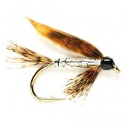 Fulling Mill Wet Fly - Silver March Brown