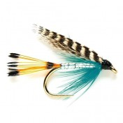 Fulling Mill Wet Fly - Teal blue and silver