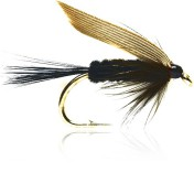 Fulling Mill Wet Fly - Black Gnat