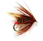 Fulling Mill Wet Fly - Red Arsed Peter