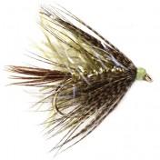 Fulling Mill Wet Fly - Straggler Olive
