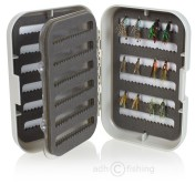 Fly Set Wet Fly by adh-fishing in Double Fly Box with Swing Leaf