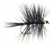 Fulling Mill Dry Fly - Bi-Vis Black