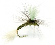 Fulling Mill Dry Fly - Goddard Emerger Olive
