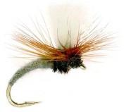 Fulling Mill Dry Fly - Klinkhammer Adams Grey