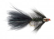 Fulling Mill Streamer - Wooly Bugger grizzly black