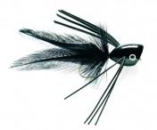 Fulling Mill Streamer - Popper black