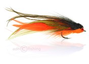 Fulling Mill Saltwater Fly - Andino Deceiver orange black