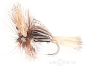 Fulling Mill Dry Fly - Humpy Black