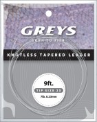 Greys - Greylon Knotless tapered leader 9 ft