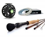 Sea Trout Set: Guideline EXP4 fly rod, Loop Xact, Guideline Coastal fly line