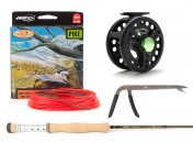 Pike Set: Airflo Greentooth Fly Rod, Loop Xact Fly Reel and Elbi's Pike Fly Line