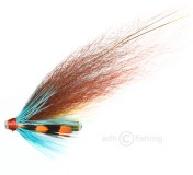 Tube Fly - Premium-quality - Black Winged Orange Touch