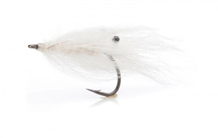 Sea Trout Fly Aura Rejen white