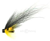 Tube Fly - Premium-quality - Micro Yellow Hackle