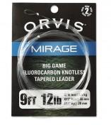 Orvis Mirage Fluorocarbon Leader Big Game 2-Pack 9 ft.