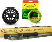 Pike Set: Big Daddy Fly Rod, Loop Xact Fly Reel and Big Daddy Fly Line