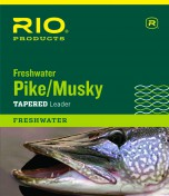 Rio Pike Musky Freshwater Leader with our without snap link