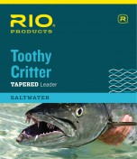 Rio Toothy Critter Saltwater Leader with our without snap link