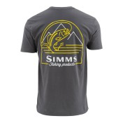 Simms Weekend Trout T-Shirt anvil