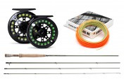 Trout and Grayling Set: Greys Streamflex, Guideline Reelmaster, Guideline Fario