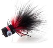 Fulling Mill Streamer - Popper Bass Banger black/red