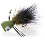 Popper Bass Popping Bug black/olive