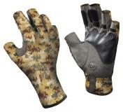 Buff Angler II Gloves Pixel Desert