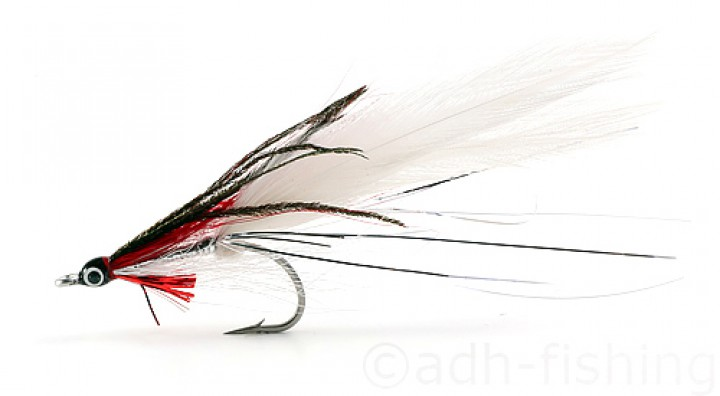 Fulling Mill Streamer - Deceiver red/white