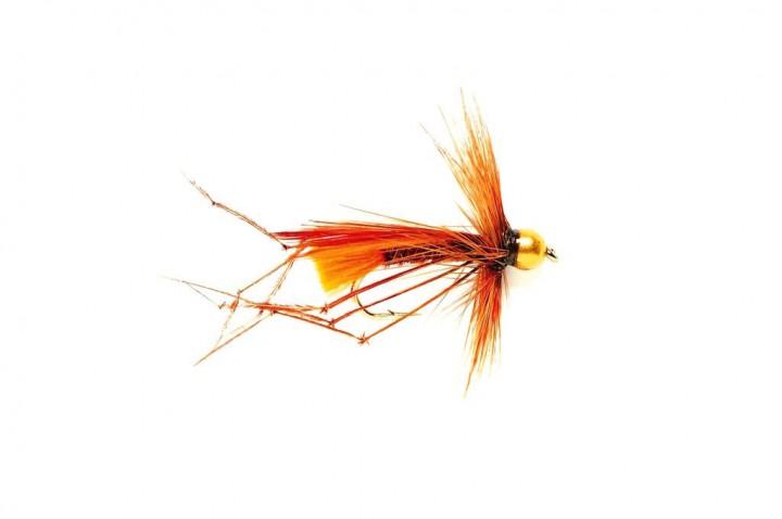 Fulling Mill Nymph - Daddy (Sinking) Orange Tag
