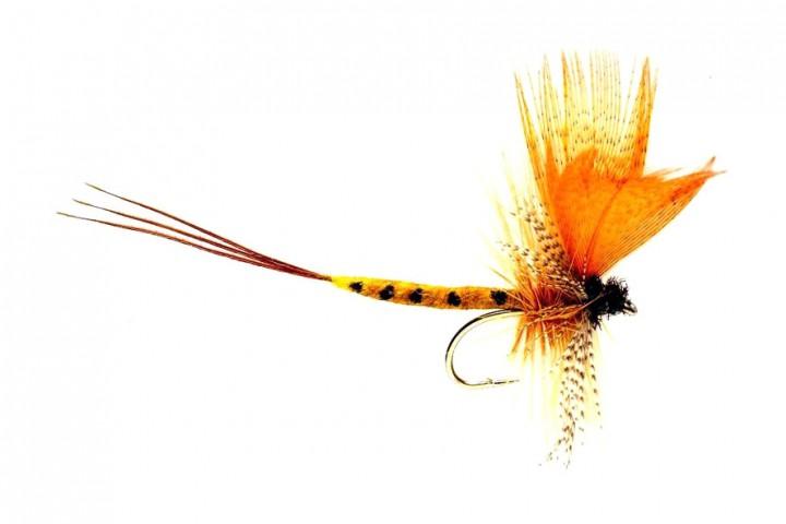 Fulling Mill Dry Fly - Mayfly Thomas Yellow