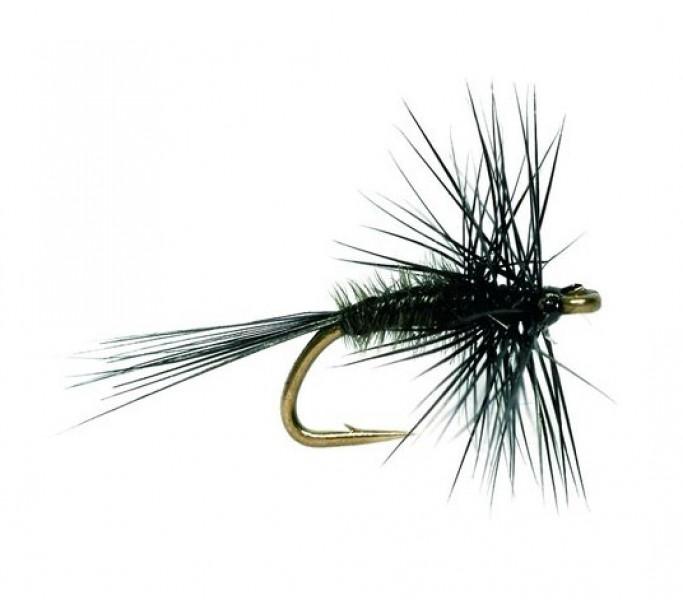 Fulling Mill Dry Fly - Midge Black