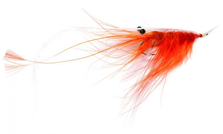 Fullung Mill Sea Trout Fly Oeland Spey Shrimp orange