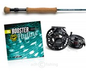 Pike Set: Pike Booster Fly Rod and Line, Guideline Haze V2 HD #79 Reel
