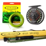 Pike Set: Big Daddy Fly Rod, Orvis Access Fly Reel and Big Daddy Fly Line