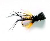 Fulling Mill Dry Fly - Hopper Popper black