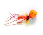 Fulling Mill Dry Fly - Hopper Popper orange