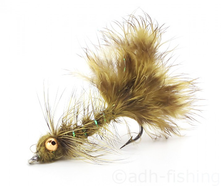 Sea Trout Fly A.Jensen - Oliven Frede