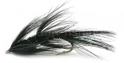 Sea Trout Fly Omo Borsten black