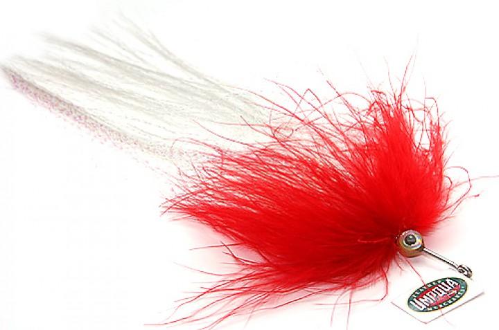 Pike Muppet red by Umpqua