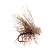 RF Deer Hair Caddis Dry Fly brown