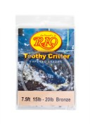 Rio Toothy Critter Tapered Leader 15 lbs bronze