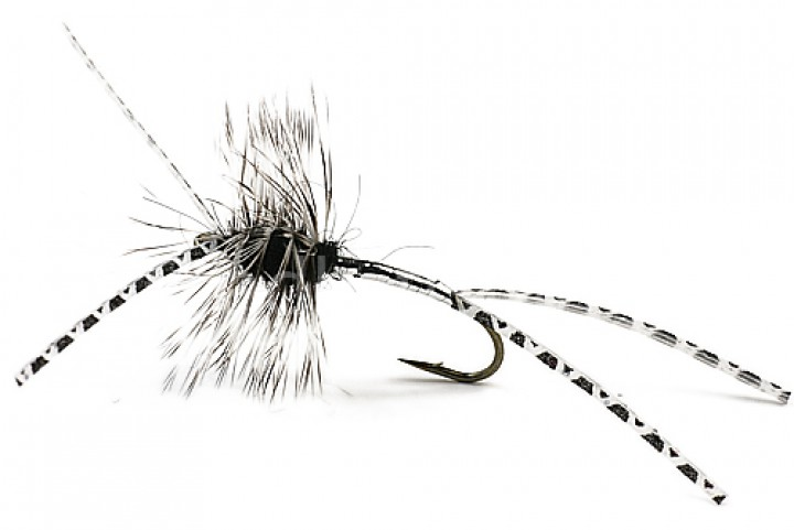 Sea Trout Fly Rubber Leg Devil silver
