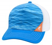 Simms Five Panel Trucker Cap water electric blue