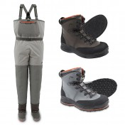 Simms Freestone Wading Set Waders and Boots