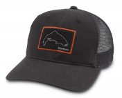 Simms High Crown Patch Trucker Cap Hat