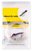 Soldarini Fly Tackle Euro Nymph UV-Leader 32 ft