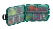 Spro G10 Clear Fly Box Storage Box, 10 compartments