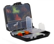 Spro B11 Clear Fly Box Storage Box, 11 compartments