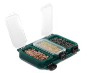 Spro G6 Clear Fly Box Storage Box, 6 compartments